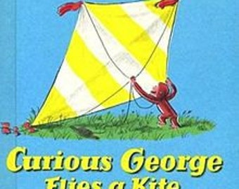 Curious George 1958 Flies a Kite by  Margret Rey-Childrens Kids Weekly Reader