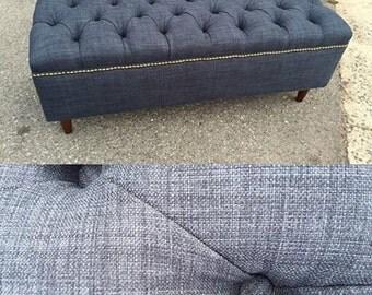 "48"" Upholstered Ottoman Coffee Table~ Design 59 inc"