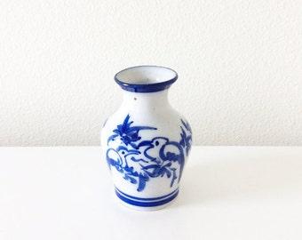 Mini Bird Vase