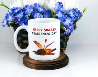 Singles Awareness Day, Dead Cupid, Cupid Mug, Cupid Who, Funny Mug, Brother Gift, For Him, Cuevex Mugs