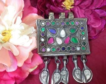 kuchi pendant / bijoux tribal fusion / american tribal style  jewelry
