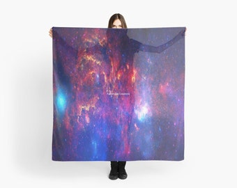 Core of the Milkyway Scarf, Shawl, Wrap