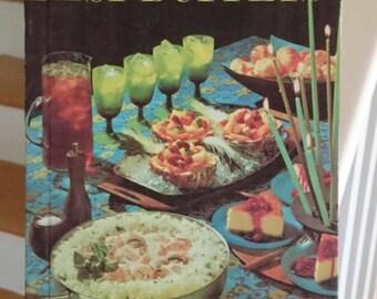 Vintage Better Homes and Gardens Best Buffets/Vintage Cookbook/Retro Cookbook/1963 Cookbook