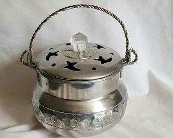 Vintage poppori pot