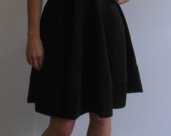 Sexy Black Cocktail Dress Backless with Keyhole Size Medium