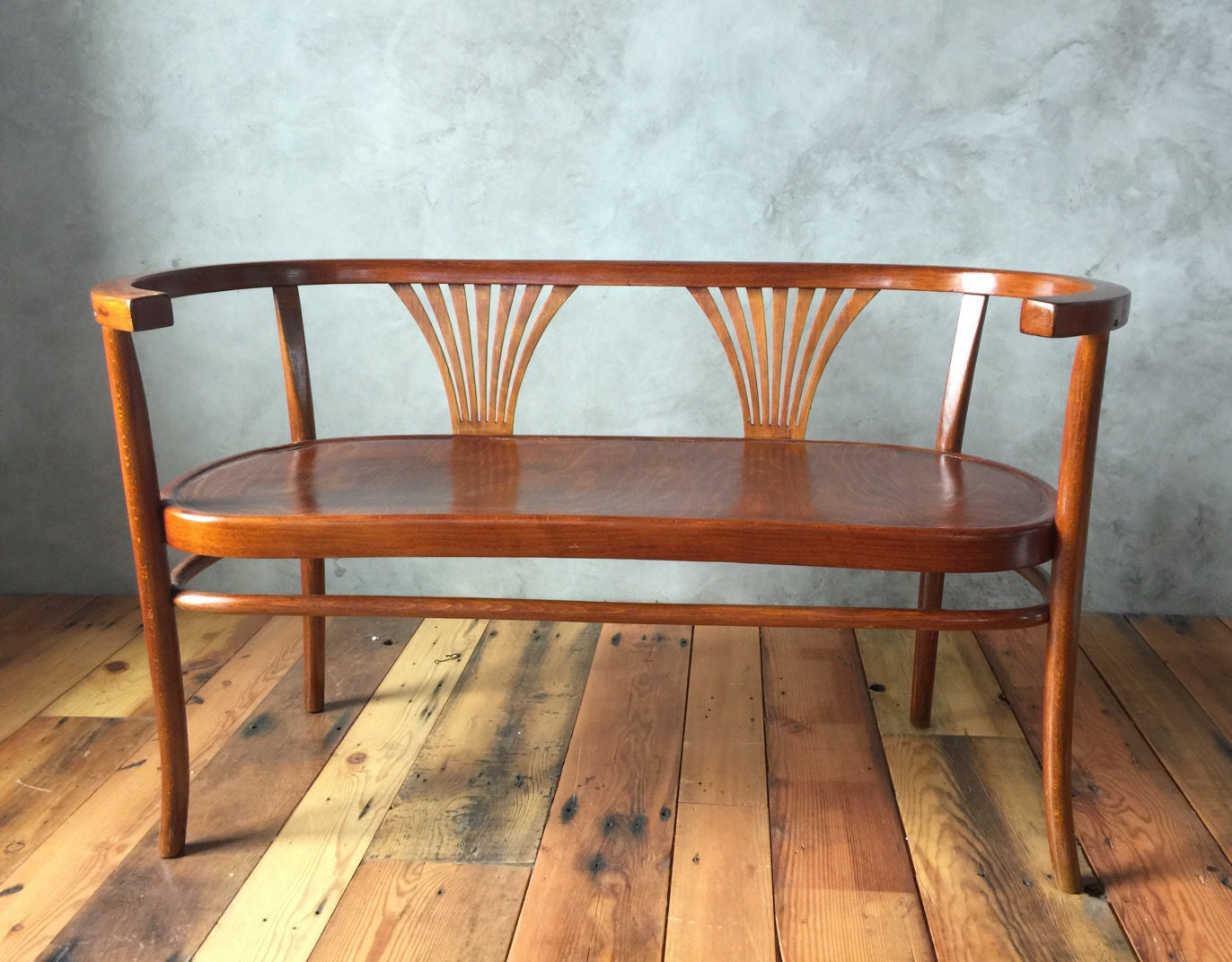 Sold Thonet Bentwood Bench Settee Circa 1900s