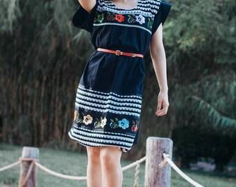 Emma Embroidered Dress