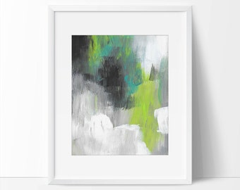 Abstract Art Print, 8x10 Abstract Print, 5x7 Abstract Print, Abstract Watercolor Painting.