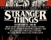 Stranger Things Mock Movie Poster