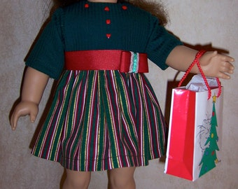 18inch doll Christmas Party dress