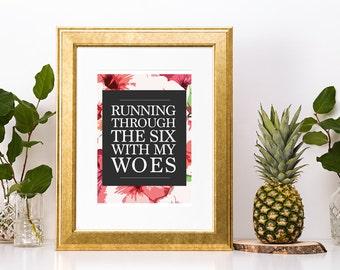 Through the Six Drake Print
