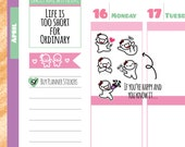 Munchkins - If You're Happy and You Know It... Planner Stickers (M134)