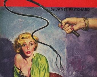 pulp art print Warped Women —  vintage pulp paperback cover repro