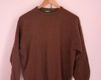 United Colors of Benetton 100% Lambswool Jumper