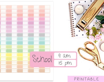 Event Stickers, Appointment Stickers, Meeting Stickers, School Stickers, Work Printable Stickers, Bill Stickers, Erin Condren Stickers