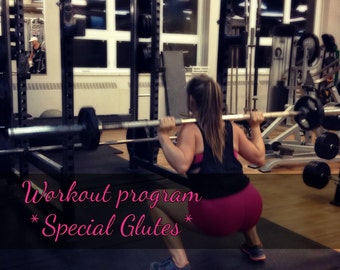 Workout program for Women, * Special Glutes training *