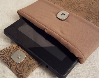 Brown Tablet Case