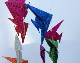 Origami Angel Fish Mobile