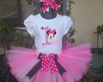 pink minnie mouse tutu