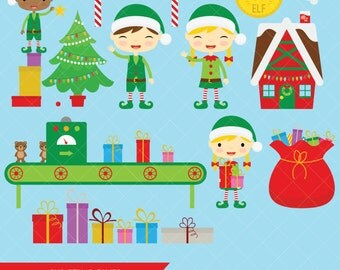 Santas workshop | Etsy