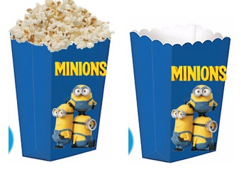 Minions treat boxes