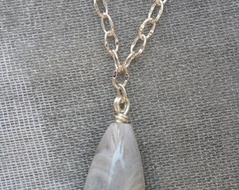 Pale Light Necklace