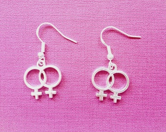 Double Venus Lesbian Earrings