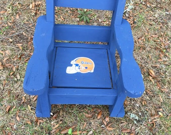 Child Rocker, Kid Rocker, Vintage Rocker, Florida Gators Memorabilia, Florida Gator Rocker, Gators, UF Gators