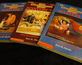 Lot of 14 Baby-Sitters Club + Super Special +Mystery books 1-6 8 49 78 79 SS 2-3