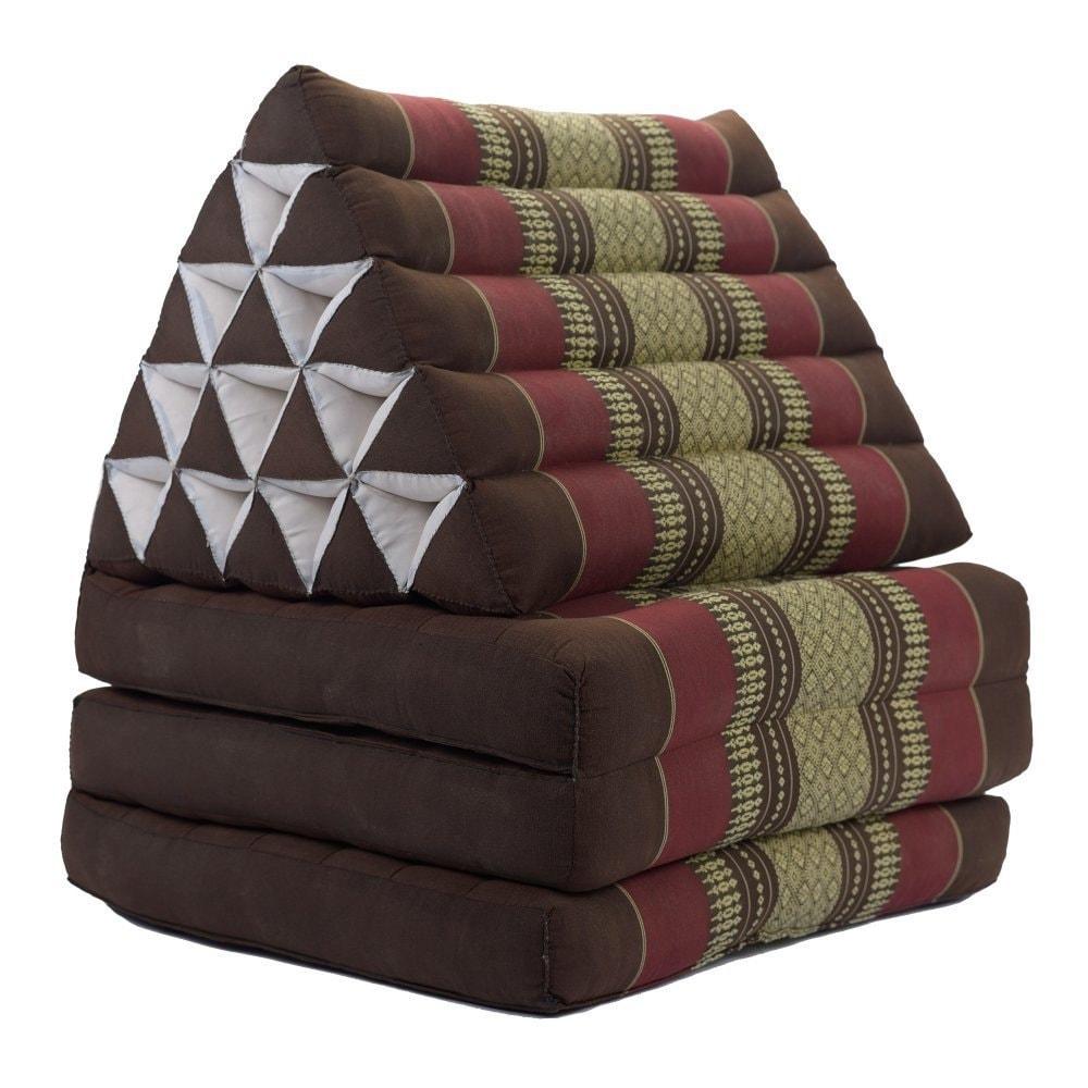 Foldout Triangle Thai Cushion Three Fold Jumbo Size