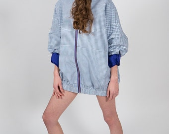 Waterproof checkered jacket