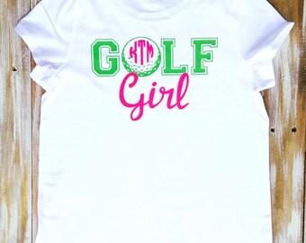 Monogram Girl Golf Vinyl Shirt