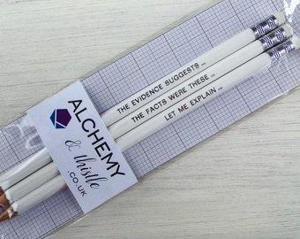 Forensic Pencil Set