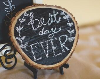 Wood Chalkboard Signs