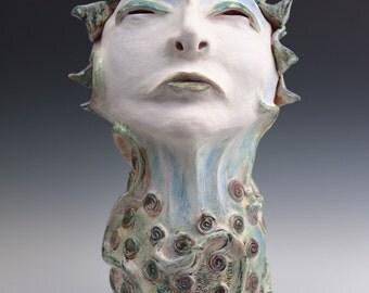 PEACE - Stoneware Ceramic Sculpture