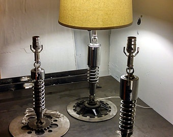 Vintage Motorcycle Lamp- 'Shocking' RBG