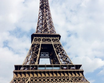 Eiffel Tower Photo | Paris, France | Downloadable Photo | Instant Download JPG