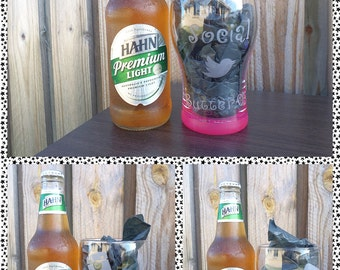 Double Sided Customised/Personalised Beer Glasses (425ml)