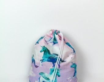 Unicorn & Pegasus pastel gym bag - hannisch