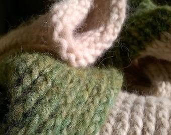 Long tubular scarf, scarf, wool scarf tubular long