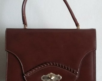 Vintage 60s Brown handbag