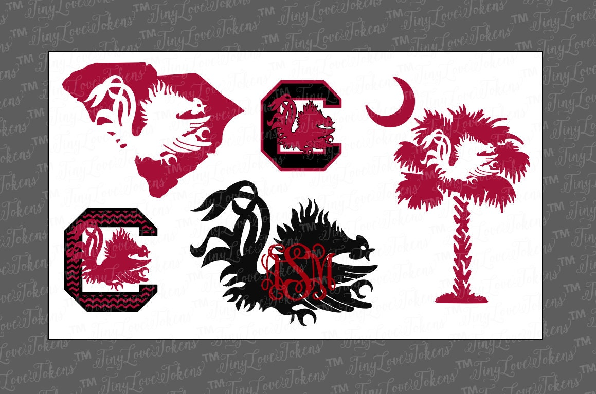 Car body sticker design eps - Gamecock Life Svg Design For Silhouette Or Other Craft Cutters Svg Dxf Eps Pdf