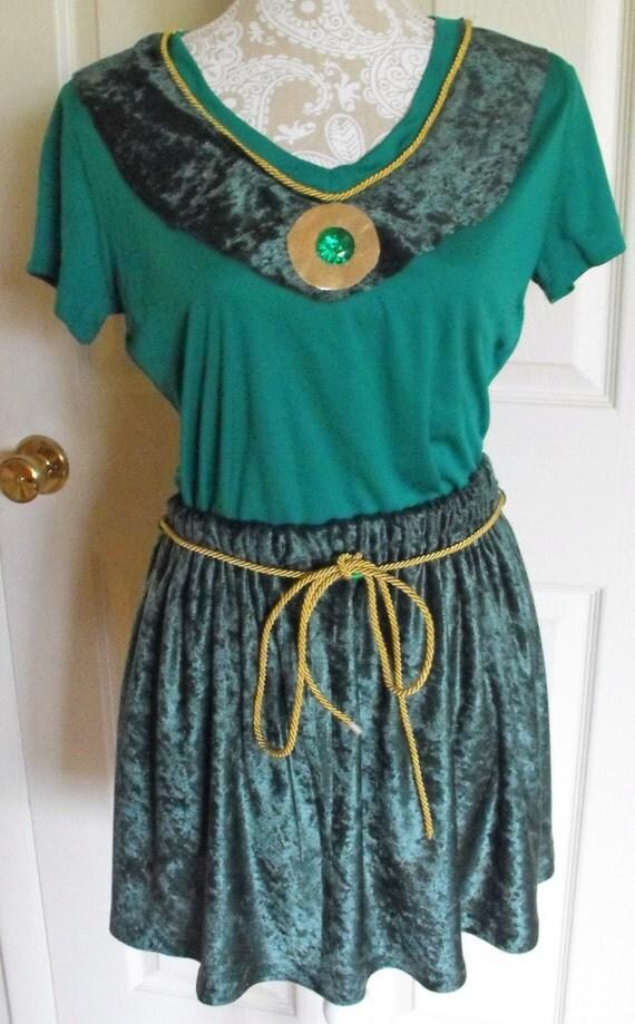 Merida inspired running costume for Ez custom t shirts