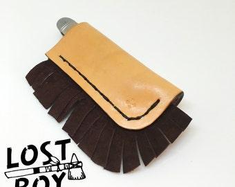 Custom Sheath and Vintage Pocket Knife
