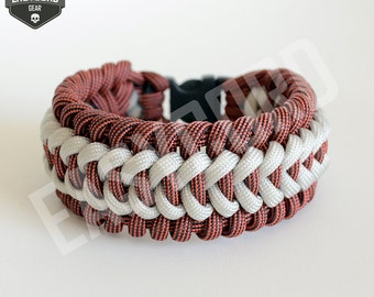 NEW EASYCORD 2017 Trilobite Jawbone Paracord Licorice and Silver colors