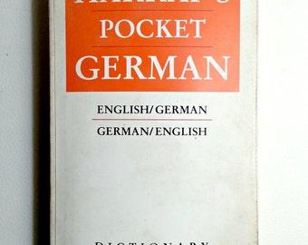 Harrap's Pocket German Dictionary