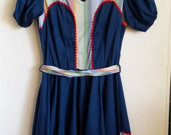 Vintage Western Fashion Dress
