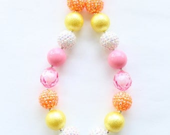 Flower Bubblegum Necklace
