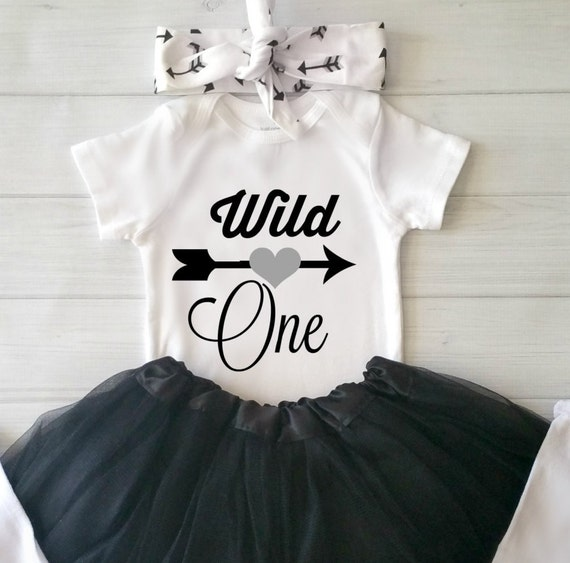 Wild One First Birthday Girl Baby Girl First By CakeSmashBaby