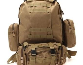 Tactical Hiking Pack Tan